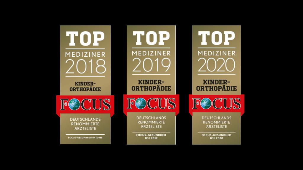 Focus Auszeichnung Top Mediziner Orthomax